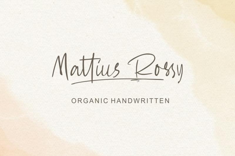 mattius-rossy