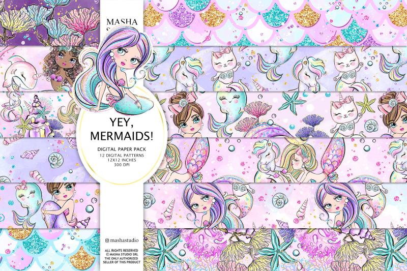 mermaid-patterns