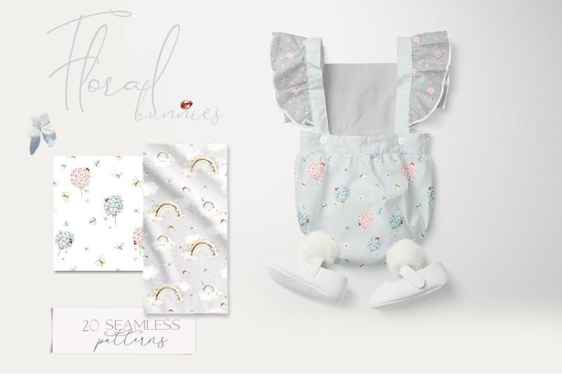nursery-seamless-patterns-cute-baby-bunny