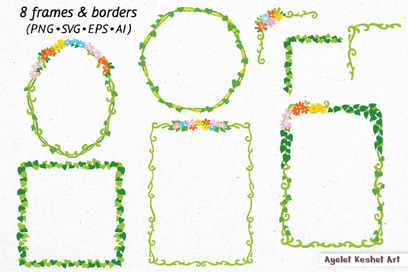 fairies-clipart-bundle-illustrations-frames-and-backgrounds