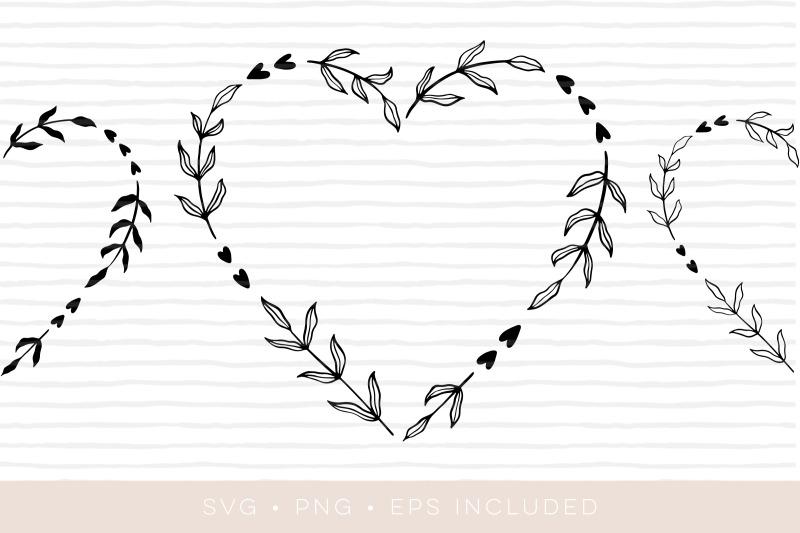 heart-laurel-wreath-cutfile-laurel-clipart-eps-png-svg