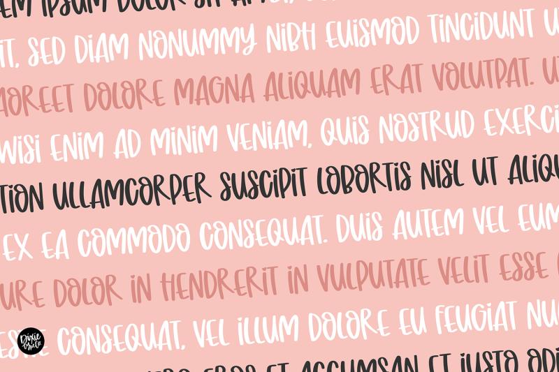 honey-syrup-brush-font