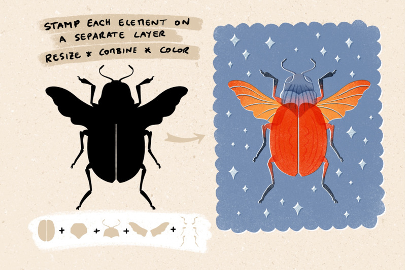 lovely-bugs-stamp-set-for-procreate
