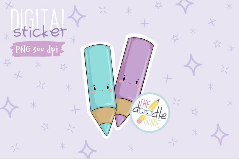 color-pencil-stickerp