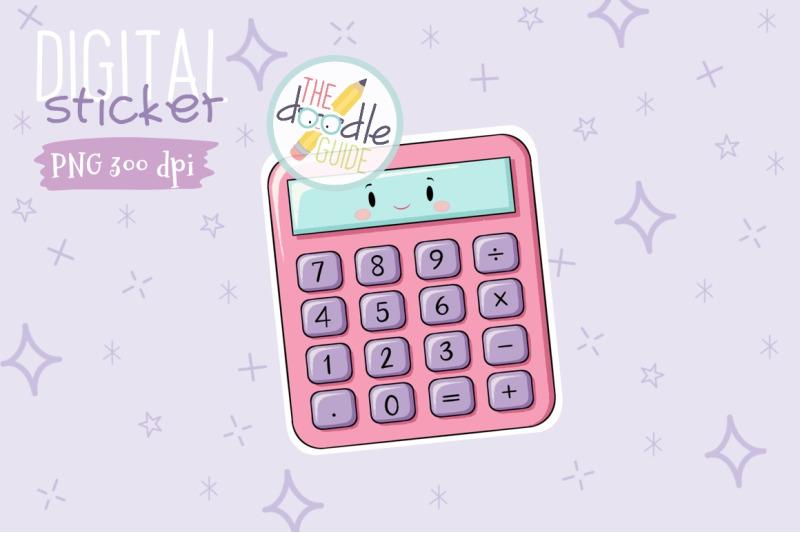 calculator-sticker