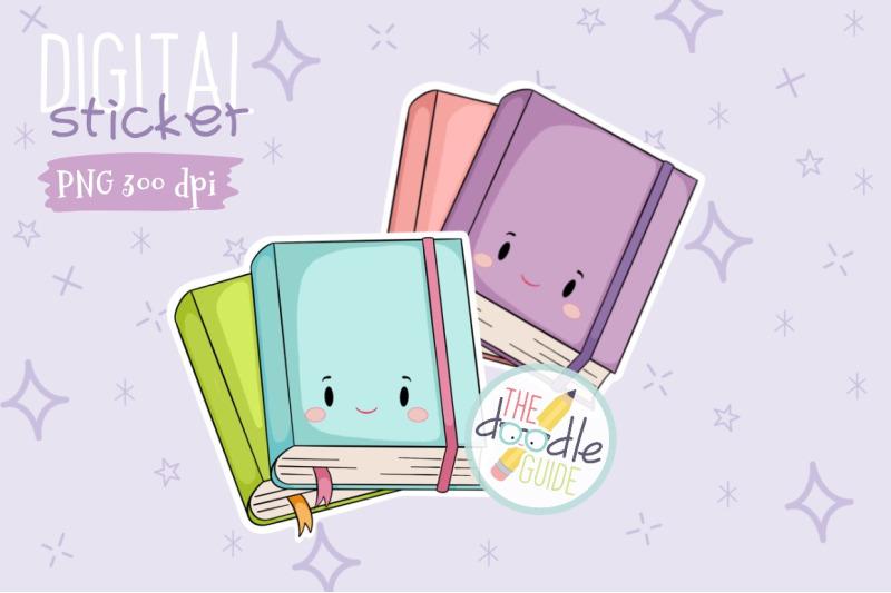 books-sticker