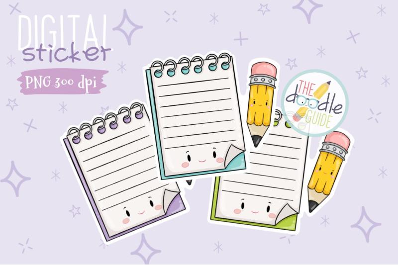 notepad-sticker