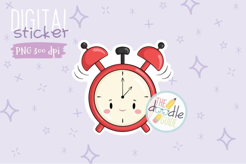 clock-sticker
