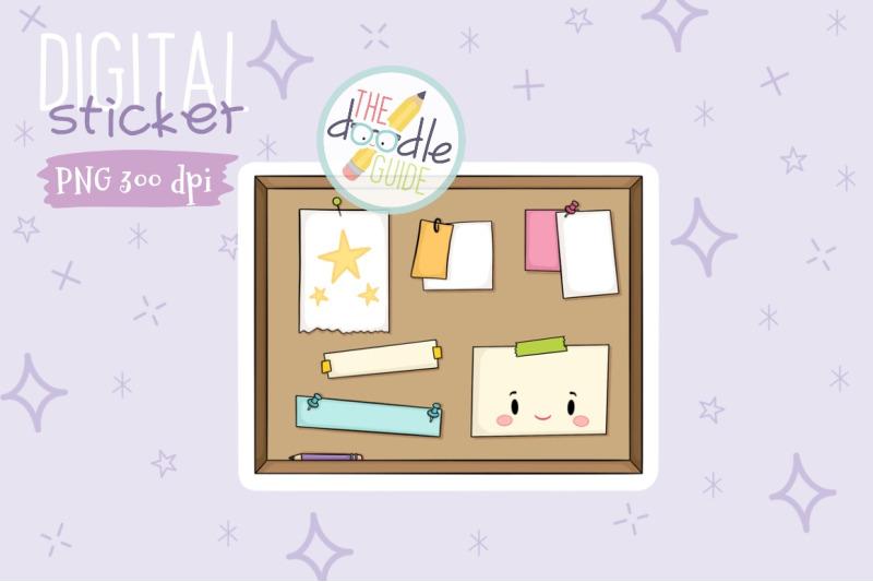 bulletin-board-sticker