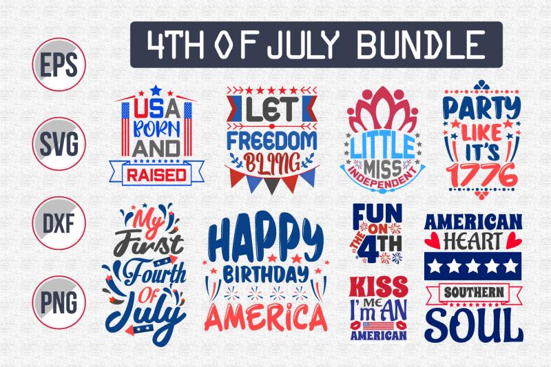 4th-of-july-quotes-design-bundle-svg