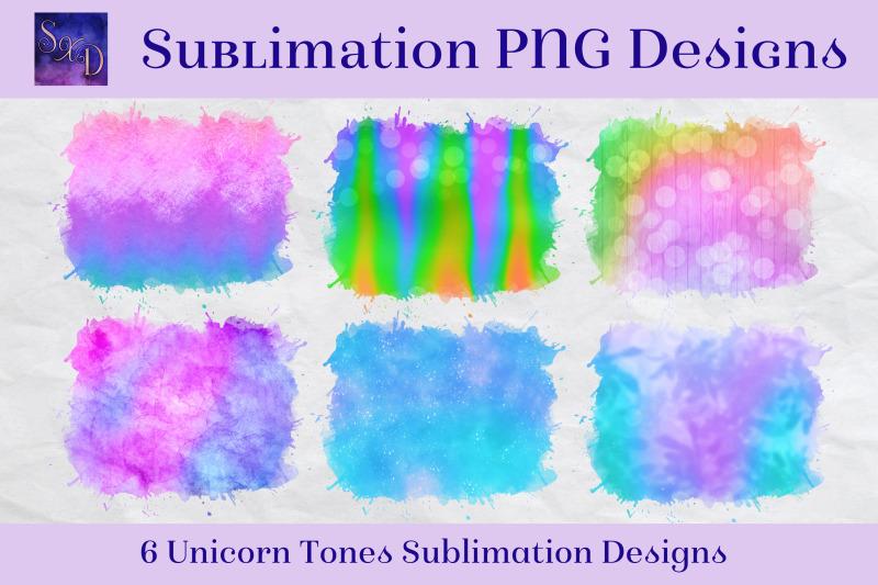 sublimation-png-designs-unicorn-tones-multicolour-images