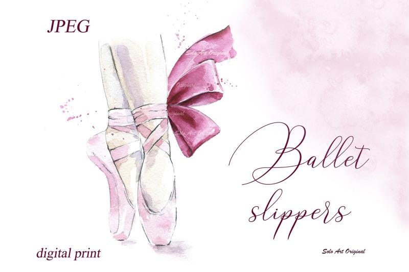 ballet-slippers-ballerina-shoes-printable-poster