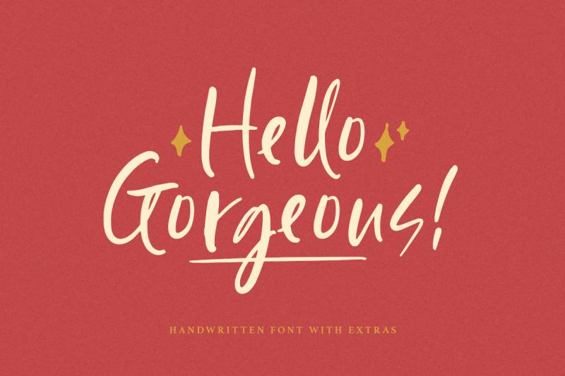 hello-gorgeous-handwritten-font