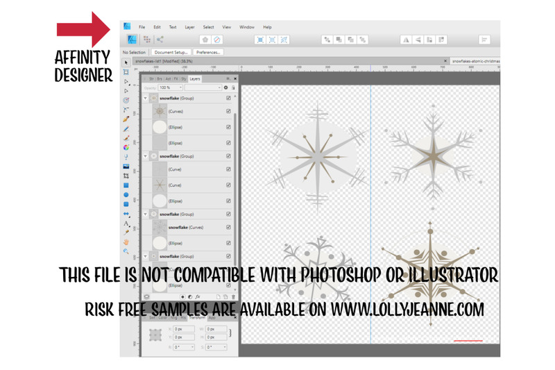 atomic-christmas-4-snowflakes-vector-afdesign-file-for-serif-affinit