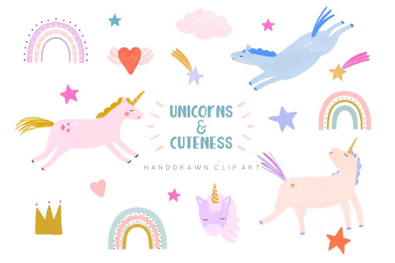 unicorns-and-rainbows-clip-art