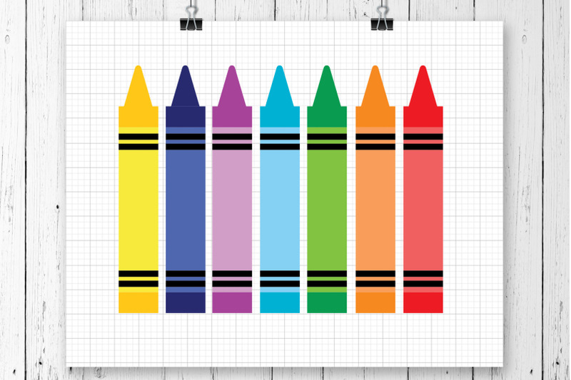 crayons-svg-clipart-printable