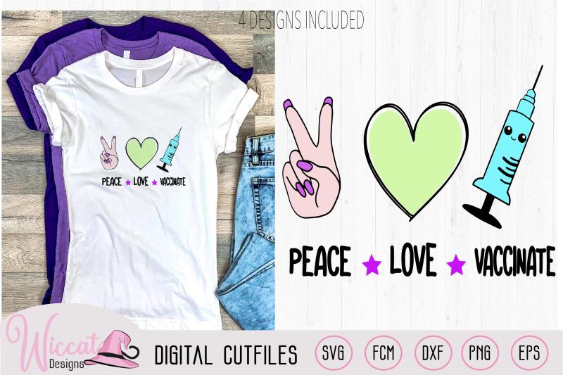 love-peace-vaccinated-svg-vaccinate-kawaii