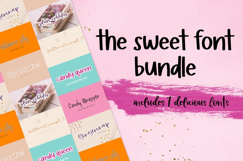 the-sweet-font-bundle