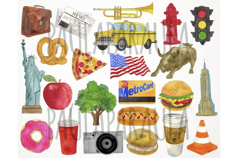 watercolor-new-york-clipart-america-clipart-usa-clipart-manhattan