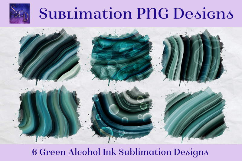 sublimation-png-designs-green-alcohol-ink-images