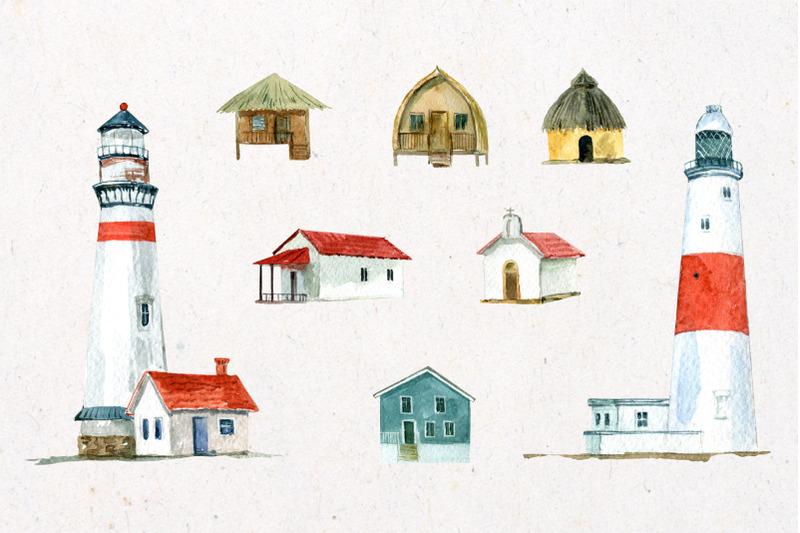 seascape-watercolor-illustrations