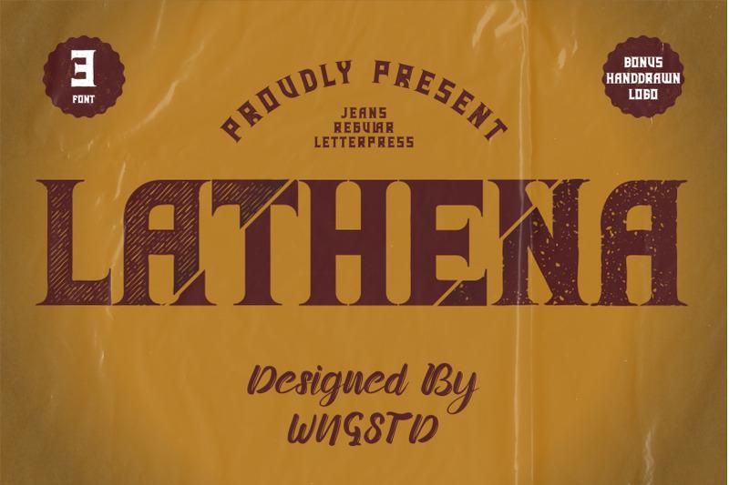 lathena-daring-vintage-styled-display-font