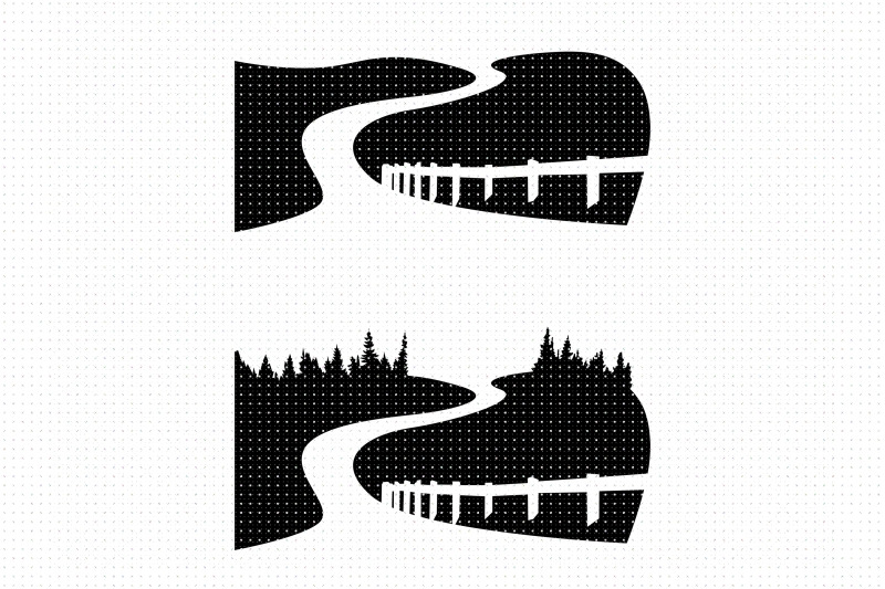 country-road-highway-svg-png-clipart