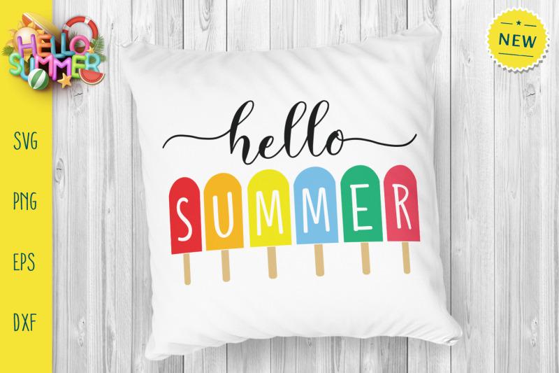 hello-summer-svg-colorful-summer-svg-icecream-svg