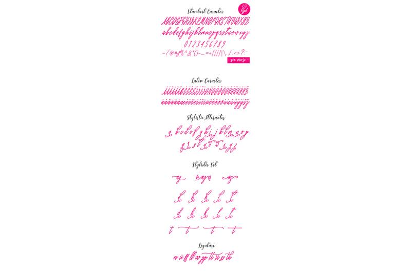 syakira-script-font