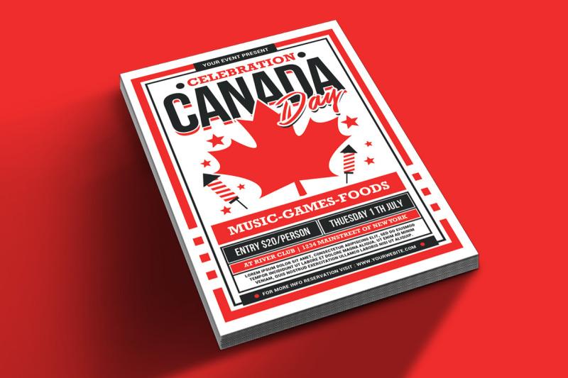 canada-day-celebration-flyer
