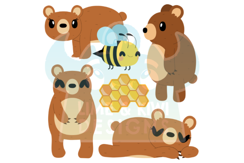 bears-clipart-lime-and-kiwi-designs