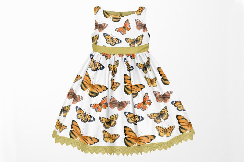 watercolor-butterflies-digital-paper-butterfly-pattern