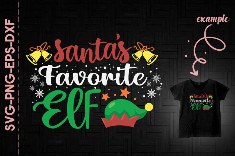 santa-039-s-favorite-elf-christmas-funny