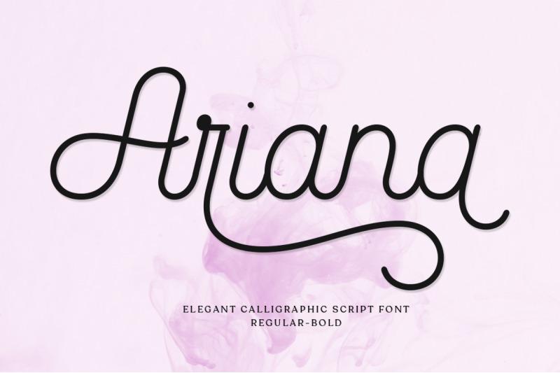 ariana-script