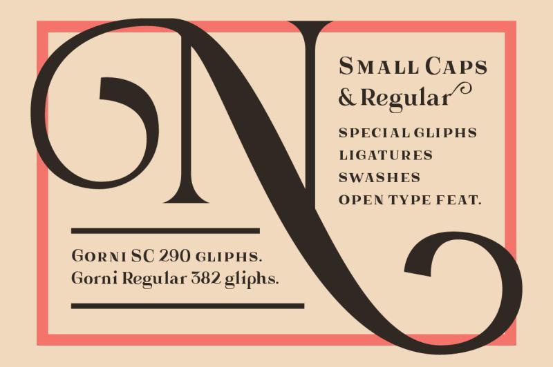 gorni-typeface