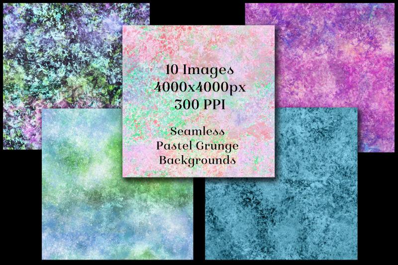 seamless-pastel-grunge-backgrounds-10-image-textures-set