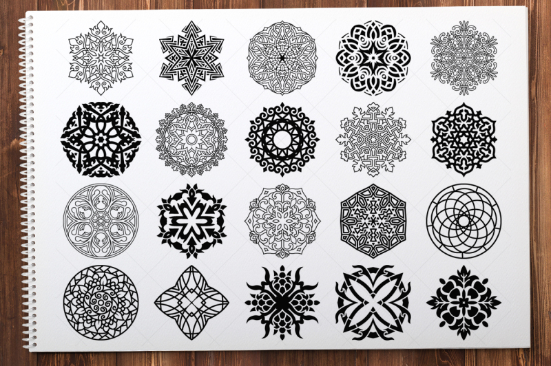 500-vector-mandala-ornaments