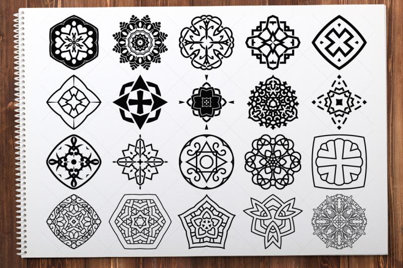 500-vector-mandala-ornaments