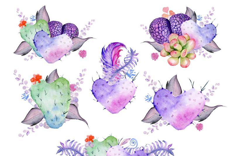 watercolor-boho-clipart