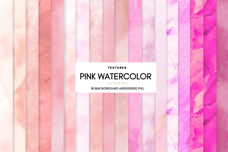 pink-watercolor-background