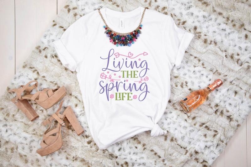 living-the-spring-life-svg-design