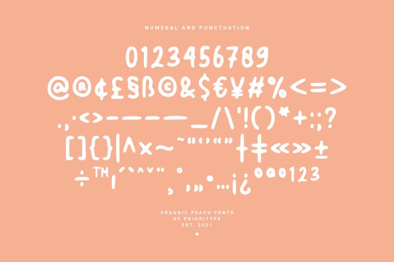 organic-peach-blurred-handwritten-fonts
