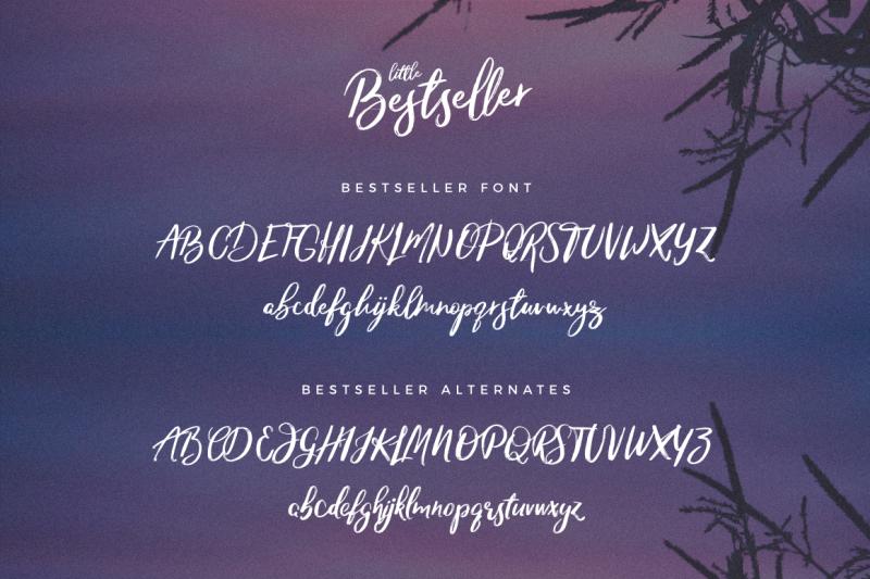 little-bestseller-script-font