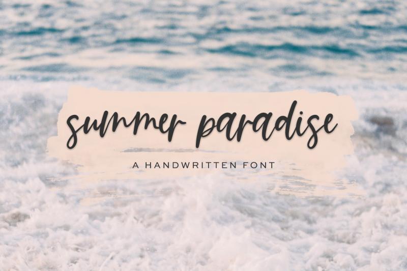 summer-paradise-script