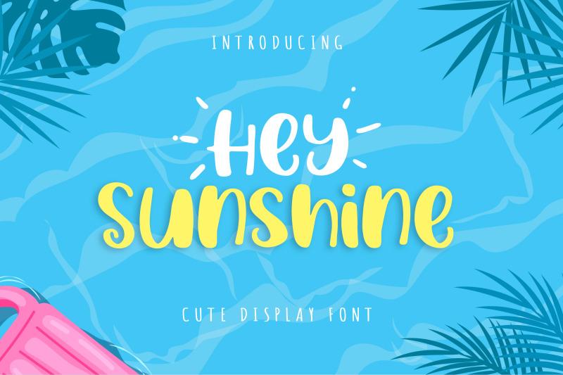 hey-sunshine