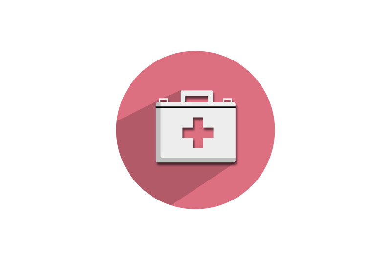 medical-icon-papercut-isolated-with-doctor-bag