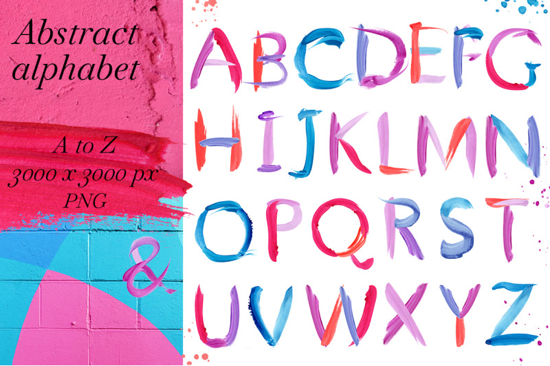 abstract-color-alphabet