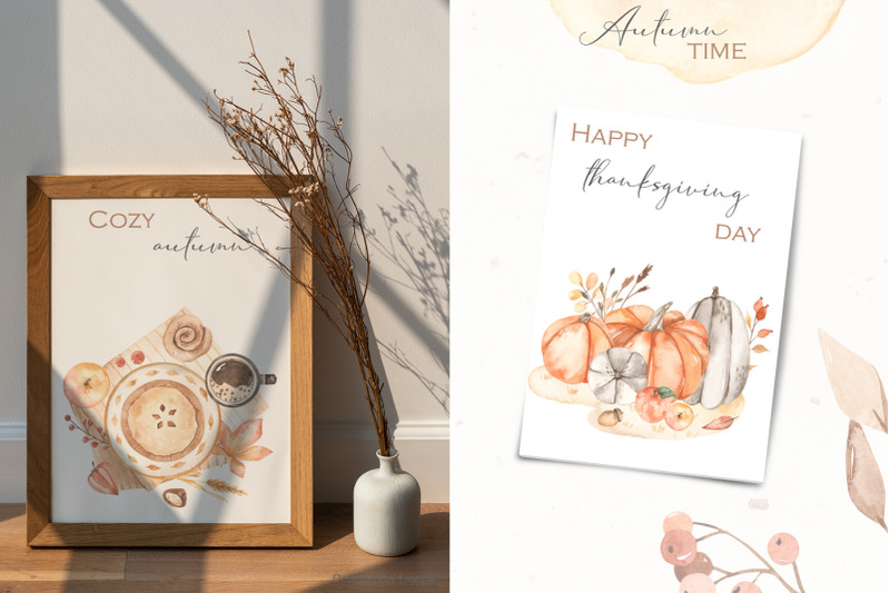 autumn-time-watercolor-collection
