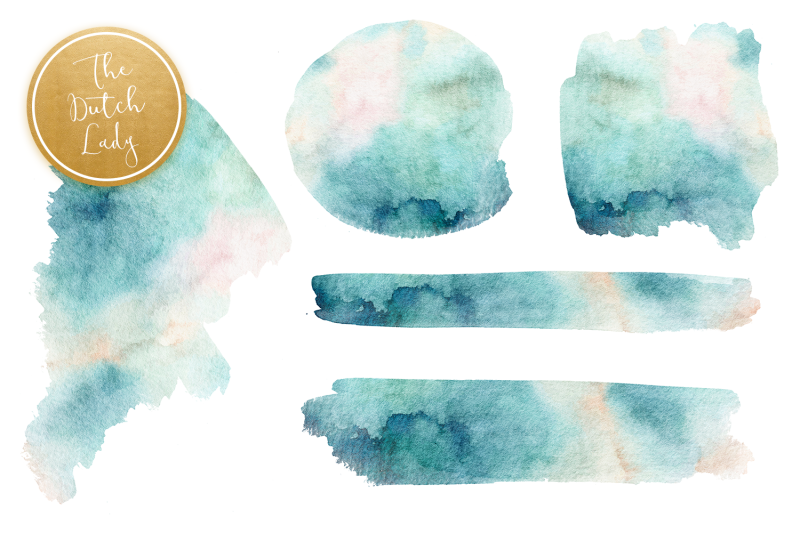 watercolor-alphabet-cipart-with-nature-elements