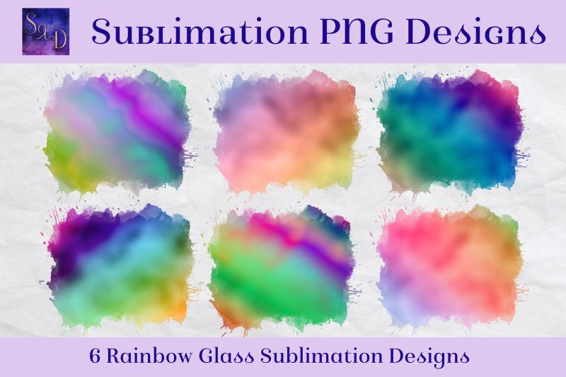 sublimation-png-designs-rainbow-glass-multicolour-images